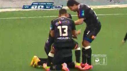 Alianza Lima vs. UTC: Javier Robles marcó un golazo para los cajamarquinos