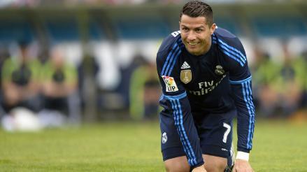 Cristiano Ronaldo intentó una finta y no vas a creer cómo terminó la jugada