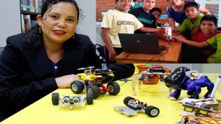 Lambayeque: promueven aprendizaje de niños a través de la creación de robots