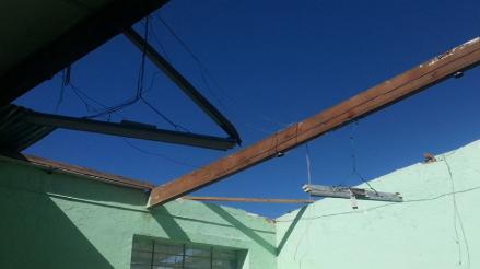 Oxapampa: granizadas y fuertes vientos ocasionaron daños en viviendas y sembríos