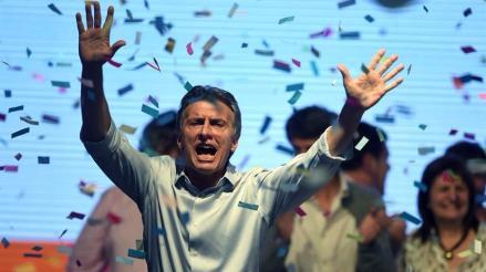 Mauricio Macri: Estoy acá por ustedes, no por desesperación de poder