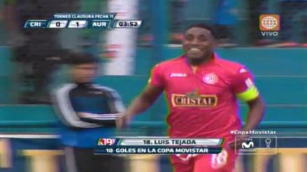 Sporting Cristal vs. Juan Aurich: Luis Tejada y su violento cabezazo que dejó parado a Penny