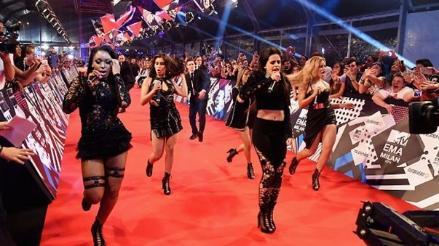 MTV EMA: Fifth Harmony causó furor en la red carpet