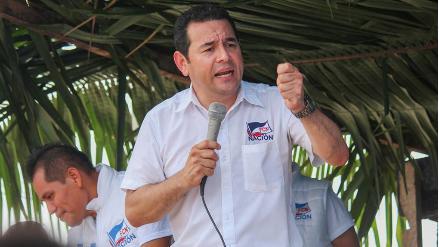 Jimmy Morales, de comediante a presidente de Guatemala