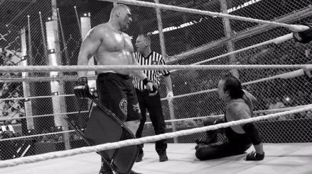 WWE: Undertaker y Brock Lesnar podrían pagar una multa por sangrar en Hell in a Cell