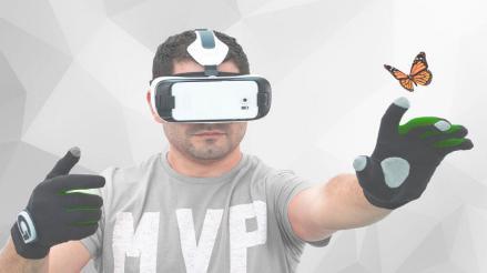 Crean guantes de realidad virtual para móviles