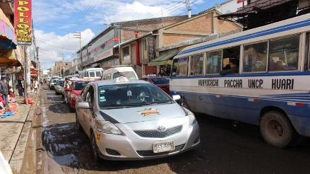 Huancayo: plan piloto de cambio de doble vía genera malestar en conductores