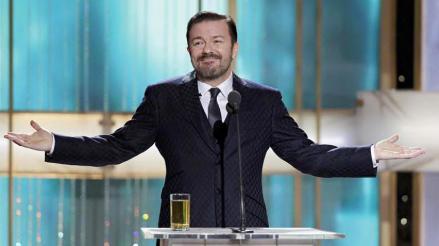 Ricky Gervais regresa como presentador de los Globos de Oro