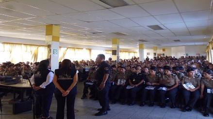 Chiclayo: Onpe capacitó a  futuros policías en temas electorales