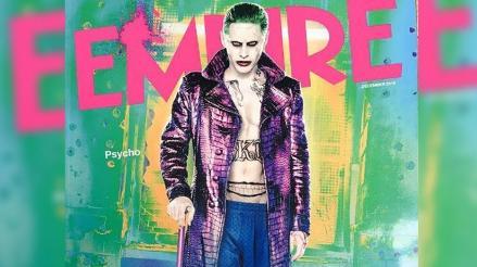Suicide Squad: Jared Leto como Joker es portada de Empire