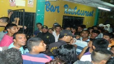 Piura: asesinan a dos personas al interior de un bar en Las Lomas