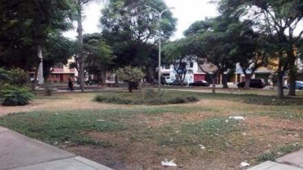 Sedalib: piden firma de convenio para regar parques de Trujillo