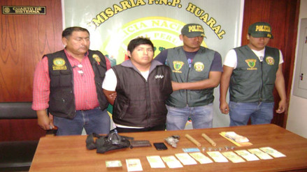 Huaral: internan en penal a sujeto acusado de extorsión