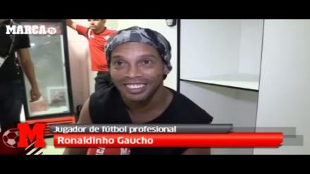 Ronaldinho: Neymar es mi sucesor