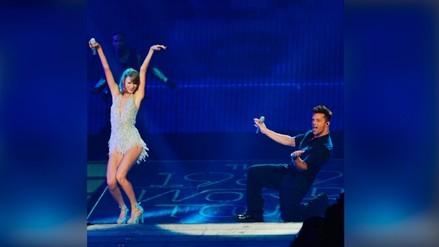 "Taylor Swift le bailó 'La vida loca"" a Ricky Martin"