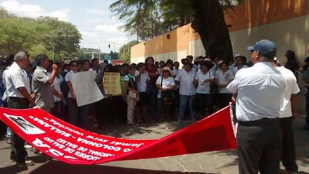 Profesores sindicalizados realizarán huelga de hambre