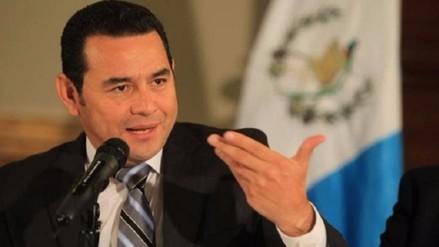 Guatemala: presidente electo solicitó ayuda a la ONU para combatir corrupción