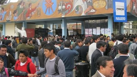Docentes universitarios de Cajamarca amenazan con huelga indefinida