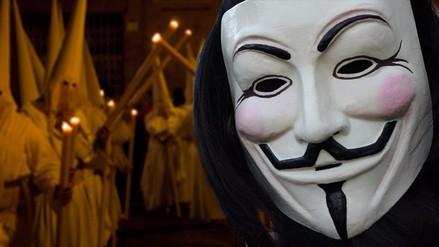 Anonymous revelará identidad de 1000 miembros del Ku Klux Klan