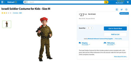 Este es polémico disfraz de Halloween vendido por Walmart