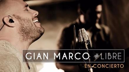 Gian Marco brindará concierto íntimo en el Teatro Marsano