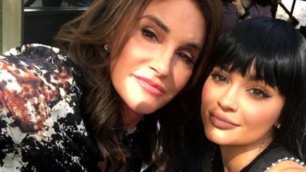 Kylie Jenner celebró el cumpleaños de su padre
