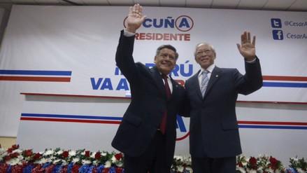 César Acuña y Humberto Lay firman alianza electoral para el 2016
