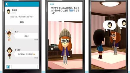 Nintendo lanza 'Miitomo', su primer juego para smartphones
