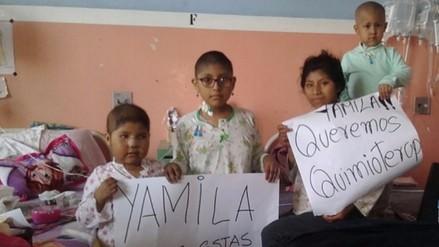 Niños con leucemia ya reciben medicación y tratamiento