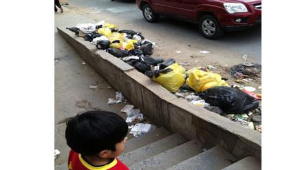 SMP: montículos de basura se encuentran regados en la avenida Lima