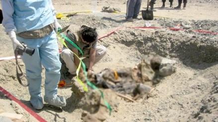 Exhuman 28 restos humanos víctimas de Sendero Luminoso
