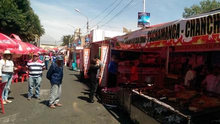 Festival de comida tradicional se inauguró en Arequipa