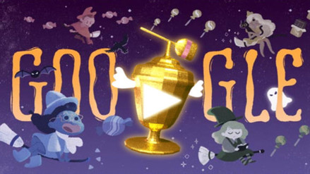 Google celebra Halloween con divertida Copa Mundial de Caramelos