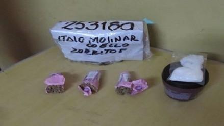 Decomisan cargamento de droga que había sido enviado en Bus Interprovincial