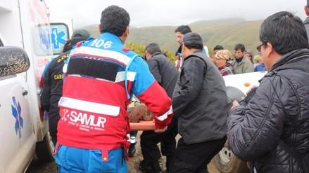 Despiste de auto deja cuatro personas heridas en Concepción
