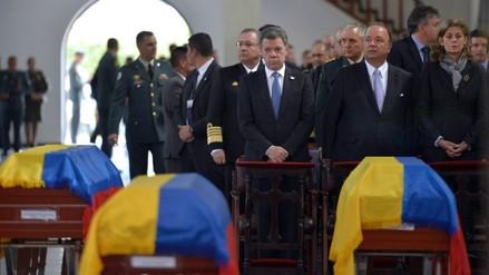 Colombia: despiden con honores a militares muertos en ataque del ELN
