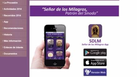 Señor de los Milagros: Su app está entre los diez más buscados del mundo