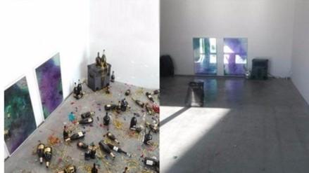 Facebook: empleada de limpieza confunde muestra de arte con basura
