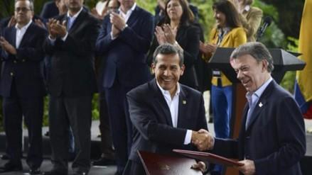 Humala: nunca en la historia tuvimos relaciones tan óptimas con Colombia