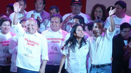 Resumen: Humala criticó a exnacionalistas, Solidaridad Nacional emplaza al MEF por corredores viales y Acuña y Lay firman alianza electoral