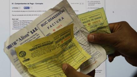 Este 31 de octubre vence plazo para dar de baja facturas y recibos sin tercera copia