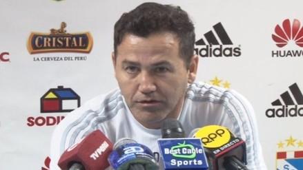 Sporting Cristal: Daniel Ahmed prefiere no arriesgar a Carlos Lobatón