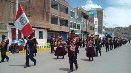 Hoy se realizó desfile cívico militar por 347° aniversario de la región
