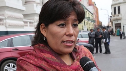 Natalie Condori: Humala en vez de hablar de propuestas busca confrontación