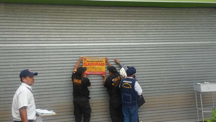 Chiclayo: clausuran hipermercado por presencia de cucarachas en panadería