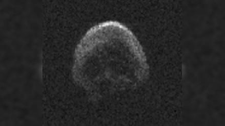 Asteroide que 'rozará' la Tierra en Halloween tiene forma de calavera