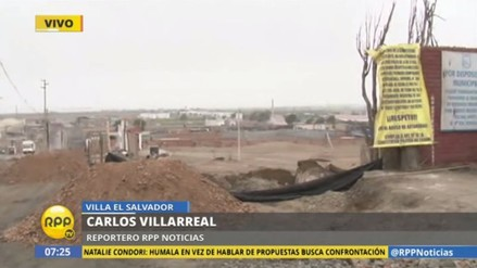 VES: vecinos protestan por ampliación de avenida El Sol