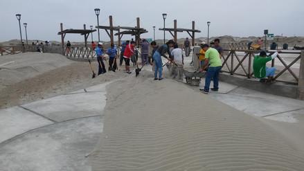 Alcalde de Puerto Eten señaló que el malecón está mal construido