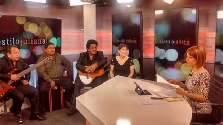 Mira la serenata de Cecilia Barraza al Día de la Canción Criolla en RPP