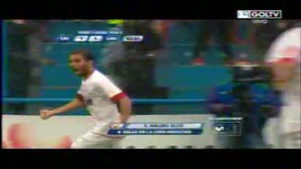 Sporting Cristal vs. León: Olivi se reivindicó y metió gol tras 'blooper' de Diego Penny